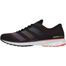adidas Adizero Adios 5 Sko Damer, core black/core black/signal pink